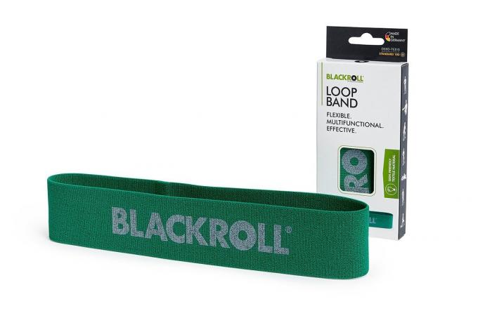 Blackroll Loop Band mittel grün
