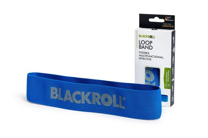 Blackroll Loop Band stark blau