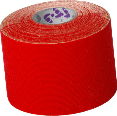 Active Tape (Kinesiologie Tape) 5cm x 5m Rot