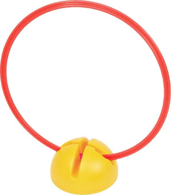 Cawila Hürdenfuß Multi für 25mm Stangen Gelb