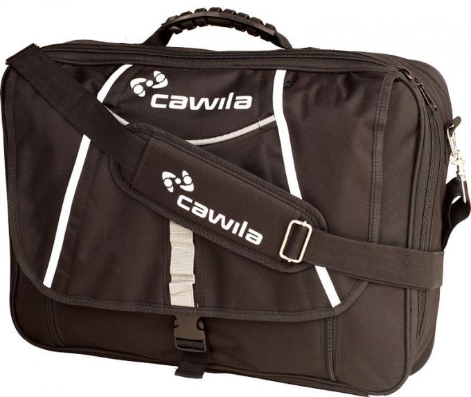 Trainer-Briefcase Large 35x50x9cm leer Schwarz