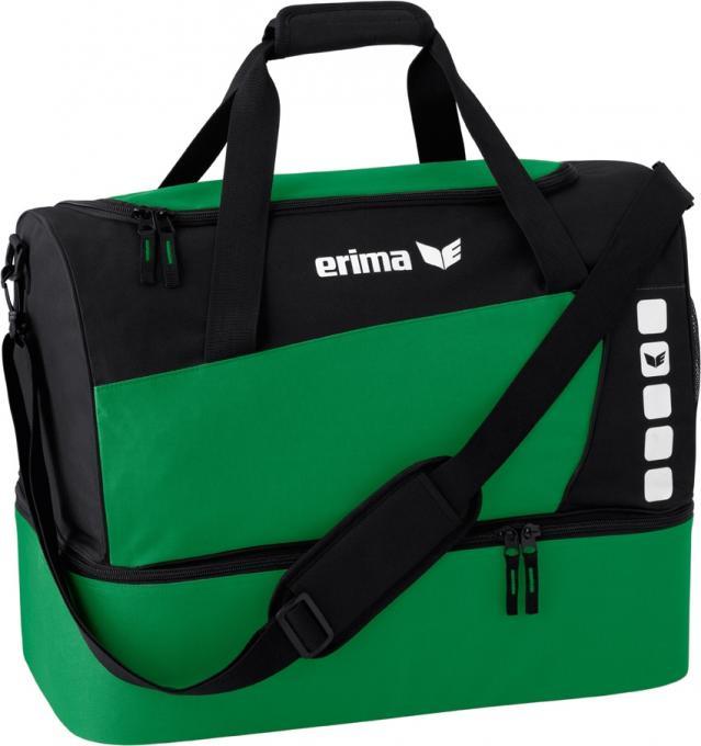 Sporttasche Mit Bodenfach smaragd/schwarz