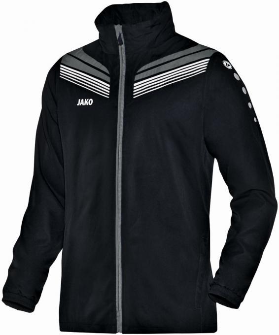 Allwetterjacke Pro schwarz/grau/weiß