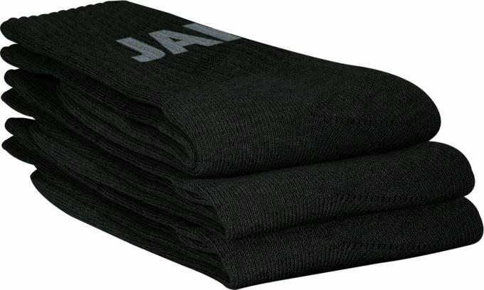 Jako Sportsocken-3er Pack schwarz
