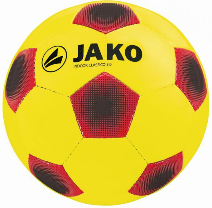 Ball Indoor Classico 3.0 gelb/rot/schwarz