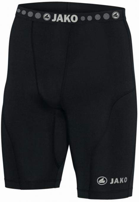 Short Tight Compression schwarz