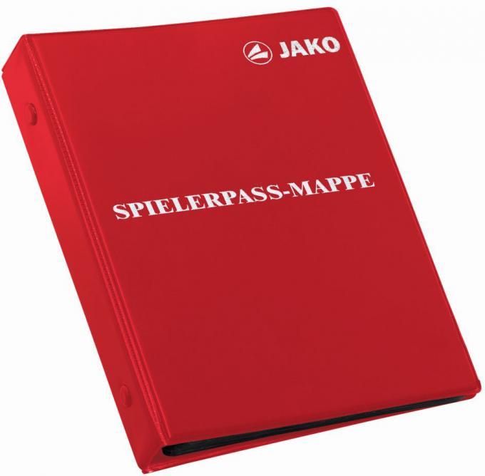 Spielerpass-Mappe rot