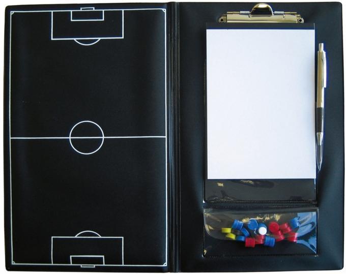 Trainer-Mappe schwarz