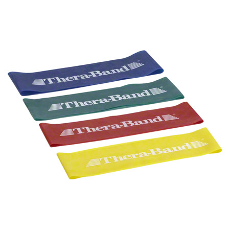 Thera Band Loop 4 er Set 7,6 x 20,5 cm 0