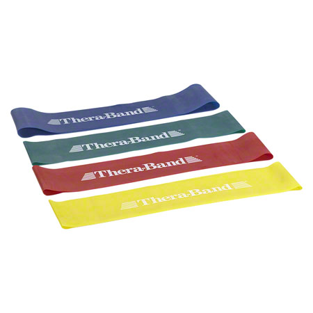 Thera Band Loop 4 er Set 7,6 x 30,5 cm 0