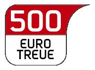 500 € Warengutschein - Werbetafel